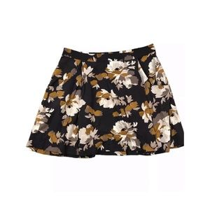 Old Navy Floral Printed Swing Skirt with Pockets